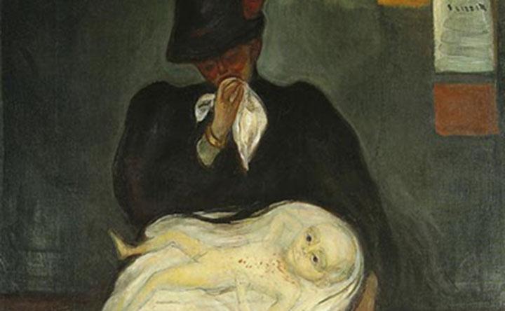Il tragico teatro delle maschere nelle opere di Edvard Munch