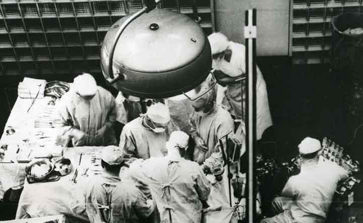 Storia della medicina: il primo trapianto