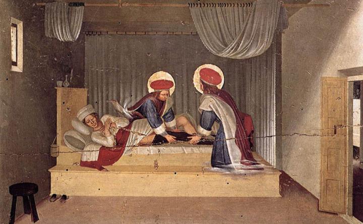 Guarigioni miracolose: l'arte sacra di Beato Angelico