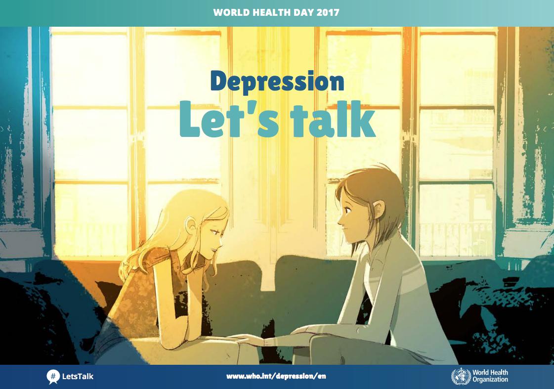 Giornata mondiale della Salute 2017: parliamo di Depressione