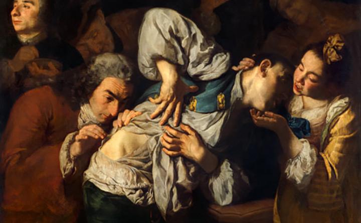 Gaspare Traversi: cure mediche tra memorie caravaggesche e teatralità