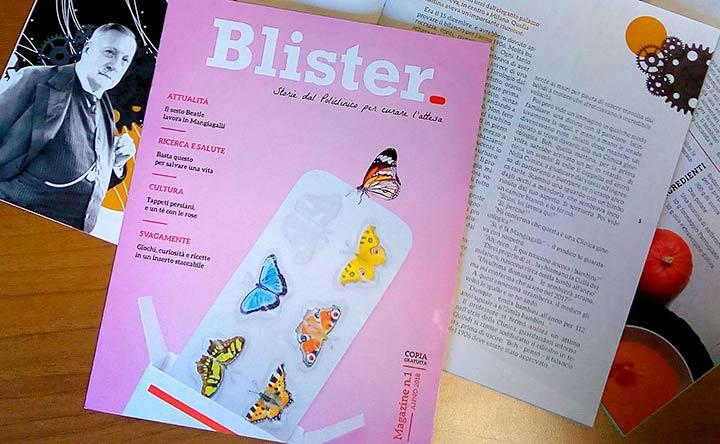 Blister, storie dal Policlinico per curare l'attesa